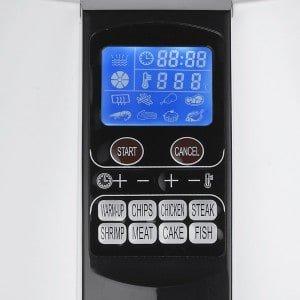 GoWise Air Fryer Digital Programmable Settings