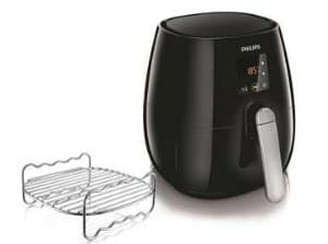 Philips Digital Air Fryer HD9230 with wire rack insert