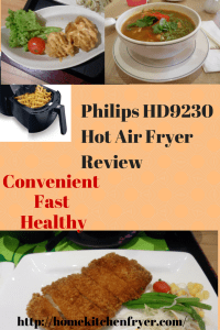 Philips HD9230 Hot Air Fryer Review