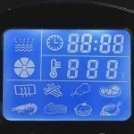 Rosewill Low Fat Fryer LCD Display