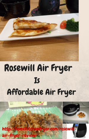 Rosewill Air Fryer Review