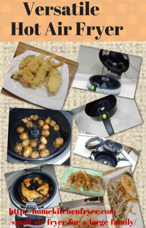 Can a Small Air Fryer Work for a Large Family? • Home