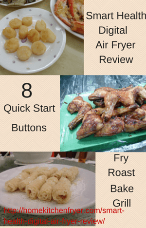 Smart Health Digital Air Fryer Review