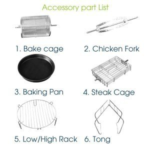 Air Frying Accessories For Lidore Air Fryer