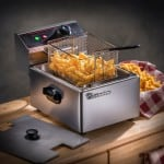 Deep Fryer Made Of Stainless Steel