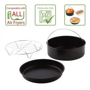 3 Piece Air fryer Accessories Set