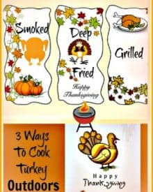 3 Different Ways To Cook A Turkey Outdoors