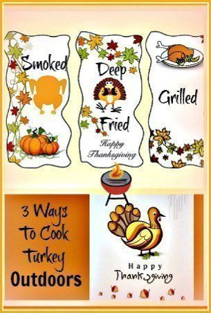 Cook A Turkey Outdoors In 3 Different Ways