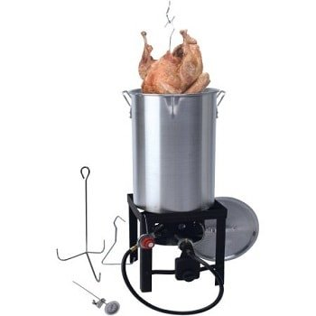 30 qt Turkey Fryer with Spout