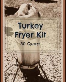 30 quart turkey fryer kit