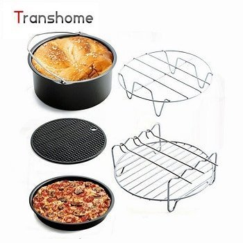 5Pcs Kitchen Air Fryer Accessories Pack