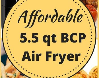 Best Choice Products 5.5 qt electric digital air fryer