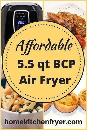 5.5 qt Digital Air Fryer Best Choice Products