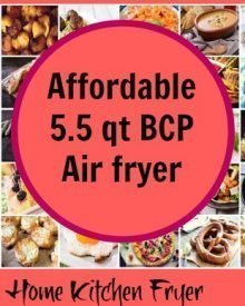 Affordable 5.5 qt BCP air fryer