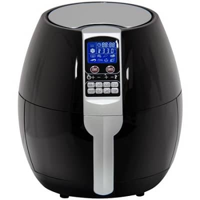 BCP 3.7Qt Electric Air Fryer with 8 Cooking Presets