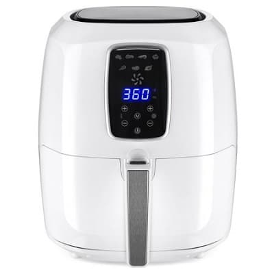 BCP 5.5 Quart Large Digital Air Fryer with LCD Screen and Non-Stick Coating