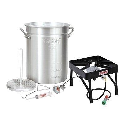 Bayou Classic Outdoor Turkey Fryer Kit - 30 qt