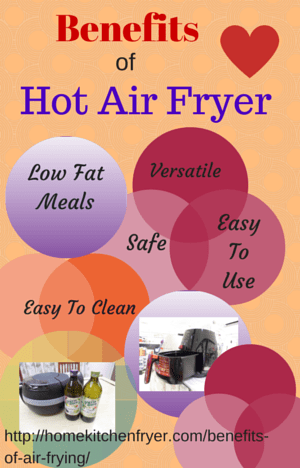Benefits Of Hot Air Frying