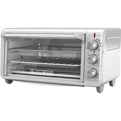 Black and Decker Extra Wide Crisp N Bake Air Fry Toaster Oven - 1500W