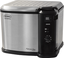Butterball Electric Indoor Stainless Steel Turkey Fryer