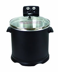 Electric Turkey Fryer 16 Quarts CHARD EDF15 Black Review Home