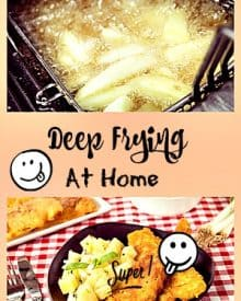 Deep Fat Frying At Home - What You Should Know