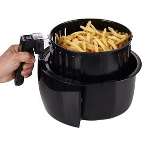 GoWise USA 3.7 qt Air Fryer Detachable Basket