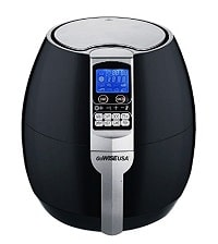 GoWISE USA GW22611 GoWISE USA 8-in-1 Electric Air Fryer with Digital Programmable Cooking Settings