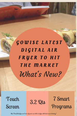 GoWise 3.2 Qts Digital Air Fryer With 7 Smart Programs