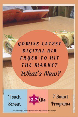 Review Of GoWise Electric Air Fryer With Touch Screen Technology