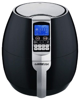 GoWise 8-in-1 Electric Air Fryer, Black