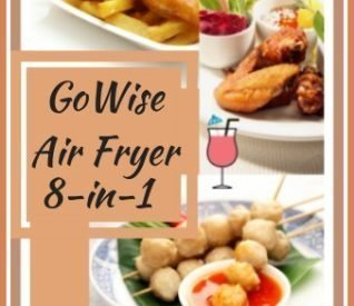 GoWise 8-in-1 Electric Hot Air Fryer