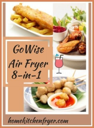 GoWise 8-in-1 Electric Air Fryer 3.7 qt Review
