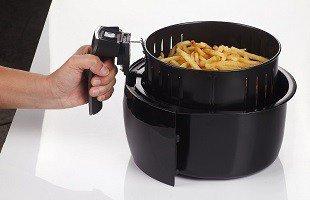 GoWise USA GW22611 Detachable Non Stick Cooking Basket