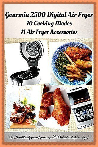 Gourmia gta 2500 electrical digital air fryer