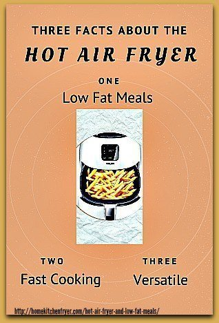 Hot Air Fryer And Low Fat Meals