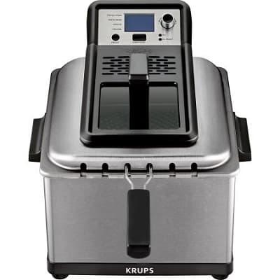 KRUPS, Professional Deep Fryer with 3 Frying Baskets, Stainless Steel KJ502D51