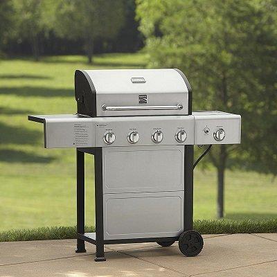Kenmore 4-Burner Gas Grill with Side Burner