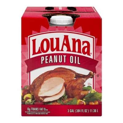 LouAna Peanut Oil, 3.0 GAL