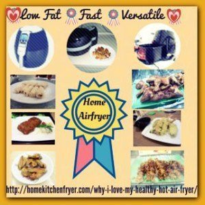 Low Fat Fast Versatile Healthy Hot Air Fryer