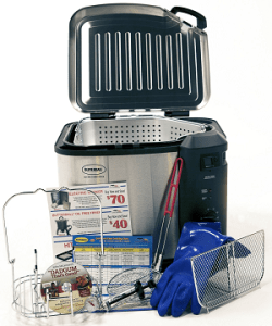 Butterball Indoor XL Fryer with Large Accessory Pack