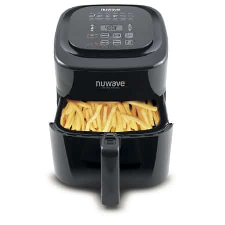 NuWave 37001 6-Qt. Digital Air Fryer, Black