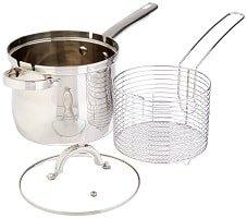 Oster 3-Piece Stainless Steel Deep Fryer Set