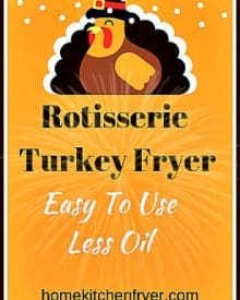 Presto Electric Rotisserie Turkey Fryer