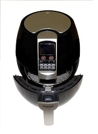 Smart Health Hot Air Fryer With Cooking Basket