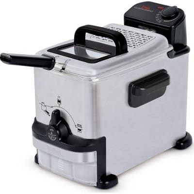 T-fal 1.8L Deep Fryer with EZ Clean Filtration System